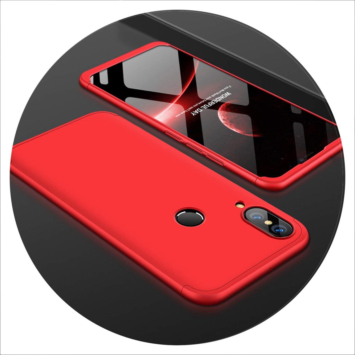 Amazon.com: Honor 8X Max Case Cover 360 Full Phone Case on ...