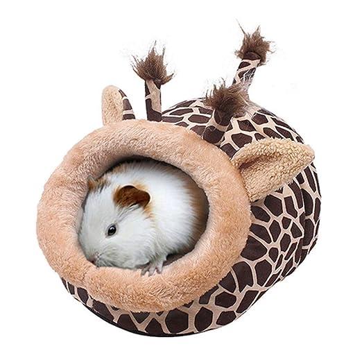 MUJING Jirafa Forma Chinchilla Hedgehog Guinea Pig Accesorios de ...