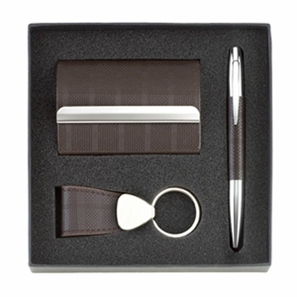 Amazon.com: Koehler Home Decor Pen key Ring And Business Card Holder ...