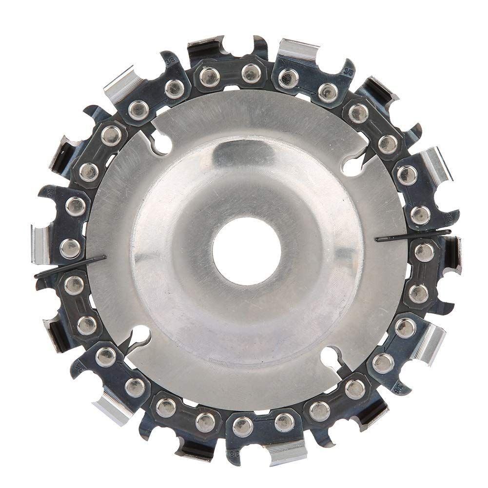 rueda de cadena de carpinter/ía para m/áquina de 100//115 mm disco de cadena de 22 dientes BGTOOL Disco de cadena de 10 cm o 11,4 cm