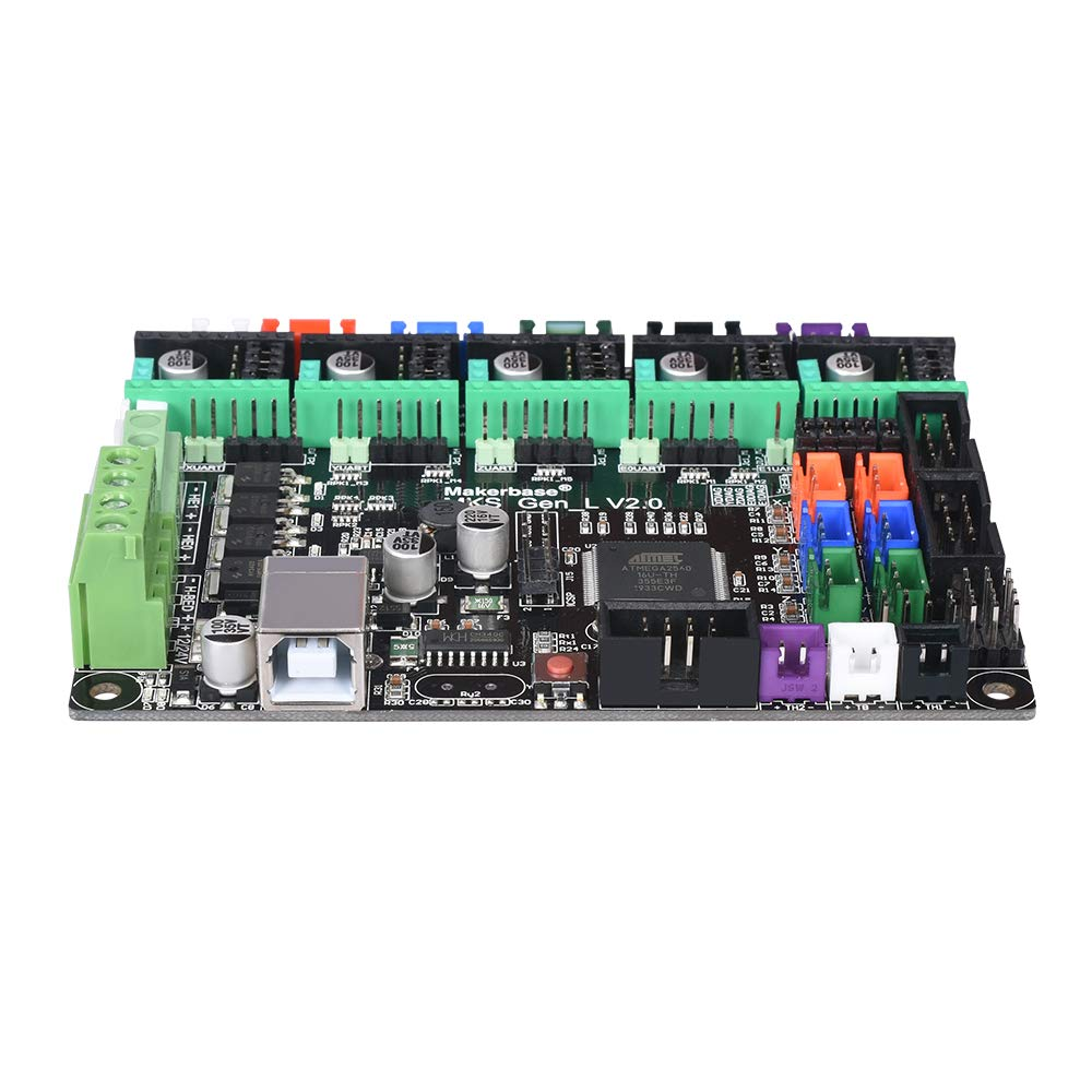 Ender 3 Pro//Ender 5 TMC2130 for Ender 3 Usongshine MKS Gen L V2.0 3D Printer Integrated Motherboard Controller PCB Board A4988 TMC2208 DRV8825 CR-10