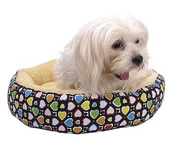Wuwenw Mascota De La Cama del Perro Que Se Calienta Casa De Perro Material Suave Nido