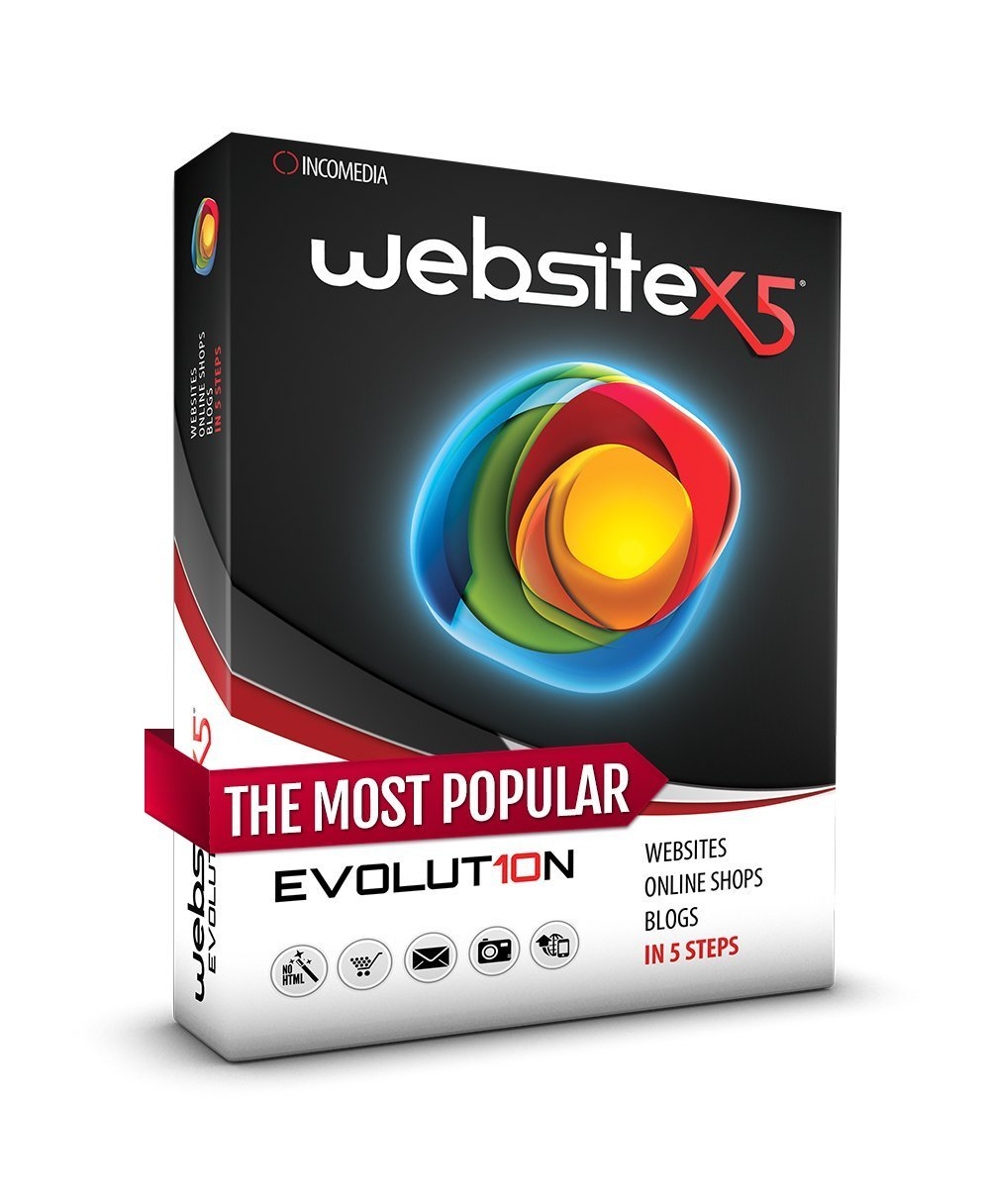 WebSite X5 Evolution 10 (PC) Boxed Product by Website X5