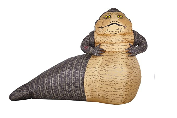 Morbid Enterprises Star Wars Jabba The Hut Lawn Inflatable Brown/Tan/Black/  sc 1 st  Amazon.com : jabba the hutt costume baby  - Germanpascual.Com