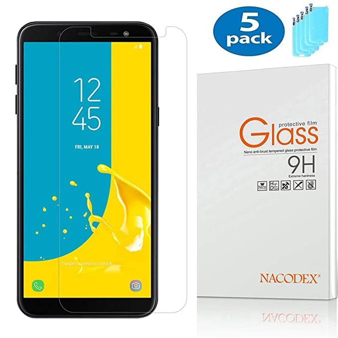 quality design d230d ef5d1 Amazon.com: Compatible Samsung Galaxy A7 2018 Screen Protector, [5 ...