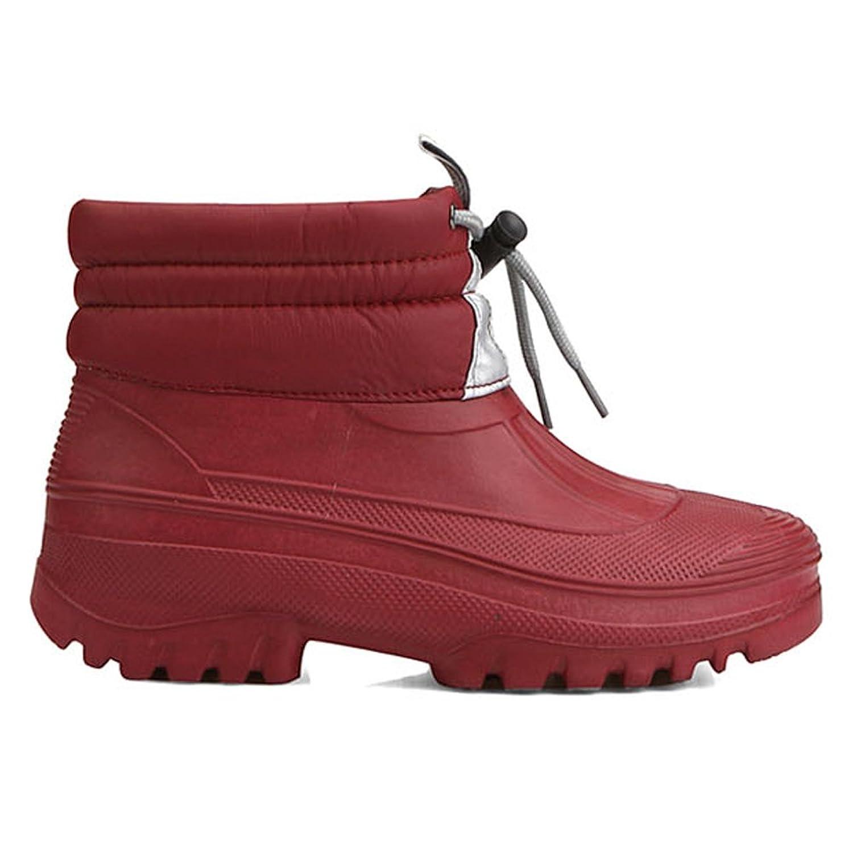 New Womens Pretty Warm Waterproof Winter Snow Warm Rain Boots