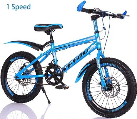 7 Velocidad Bicicletas Infantiles de montaña 18 in 20 in,Unisex ...