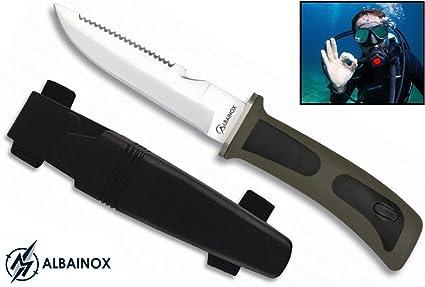 Albainox 31333-NE Cuchillos de Trabajo y Profesionales, Unisex Adulto, Multicolor, Talla Única