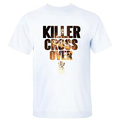 4e0a7a201 Yrewer Men's Killer Cross Over Kyrie Irving Logo Cleveland Cavaliers #2 T  Shirt