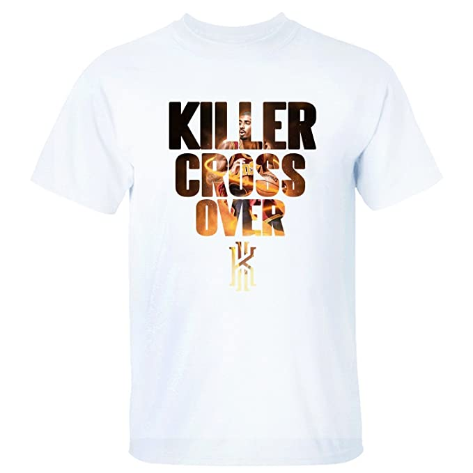 Yrewer Mens Killer Cross Over Kyrie Irving Logo Cleveland Cavaliers #2 T Shirt: Amazon.es: Ropa y accesorios