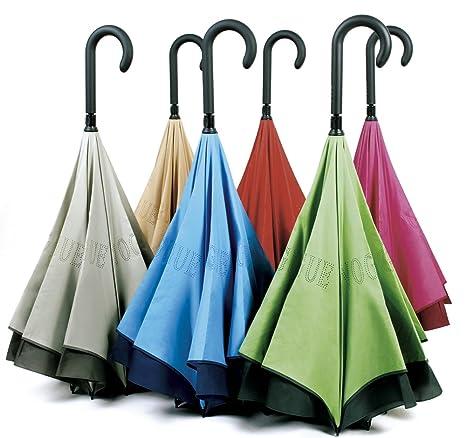 por Fin un Paraguas Que Evita Que Nos mojemos al Salir o al Entrar del Coche