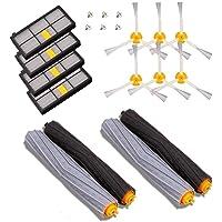 MTKD® kit reservdelar kompatibel med iRobot Roomba-serien 800 och 900 – 14 delar tillbehörskit (borstat sidocerda…