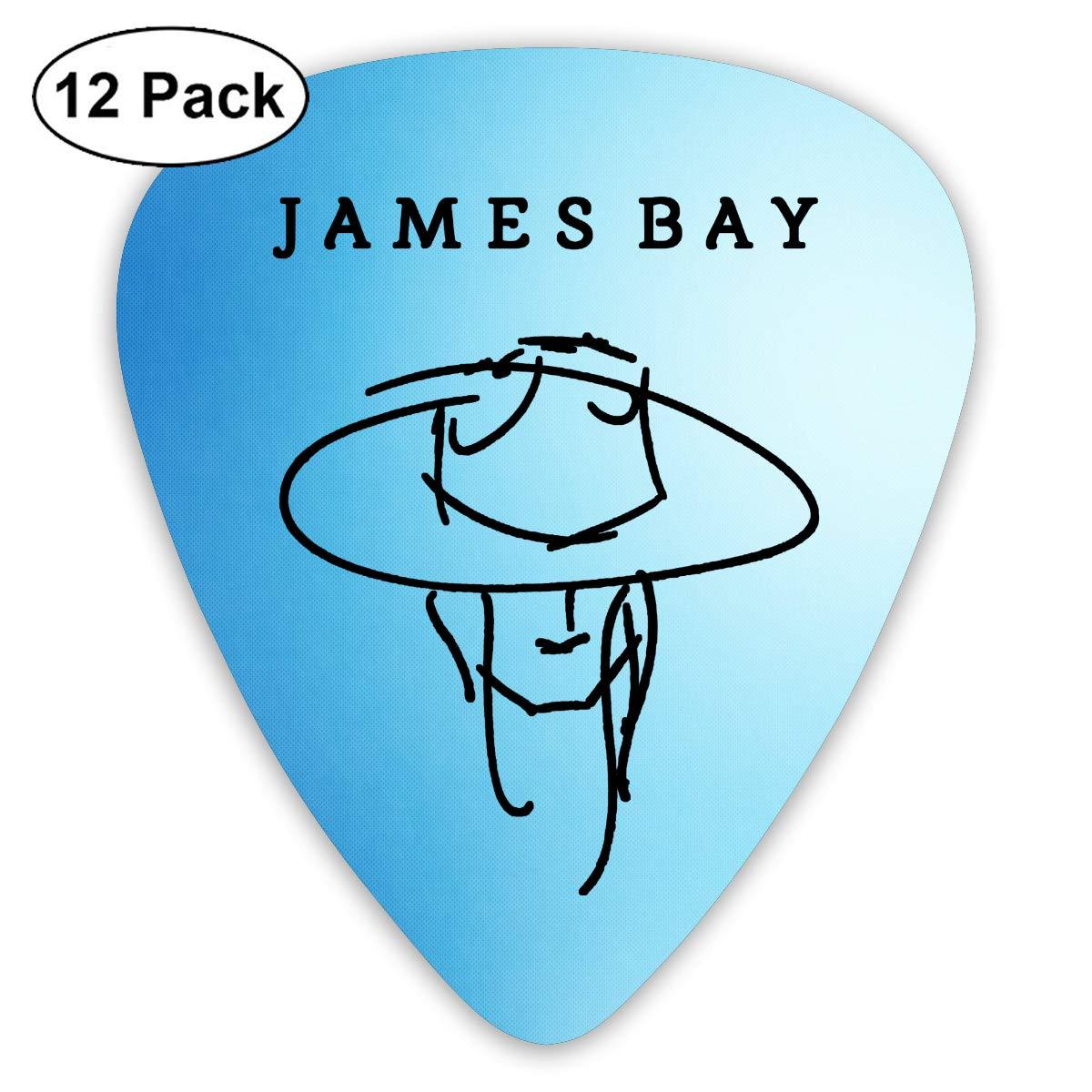ElijahO James Bay Let It Go púas de celuloide para Guitarra (12 ...