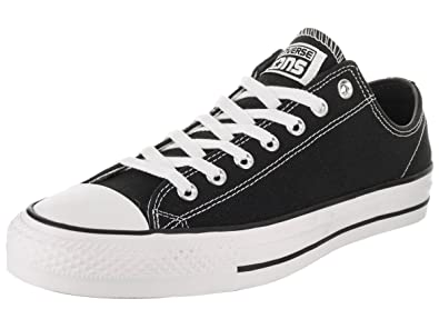 aab19b535c37 Converse Unisex Kids  Skate CTAS Pro Ox Low-Top Sneakers Black White 001