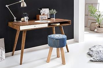 Wohnling desk repa  cm bois massif table pour
