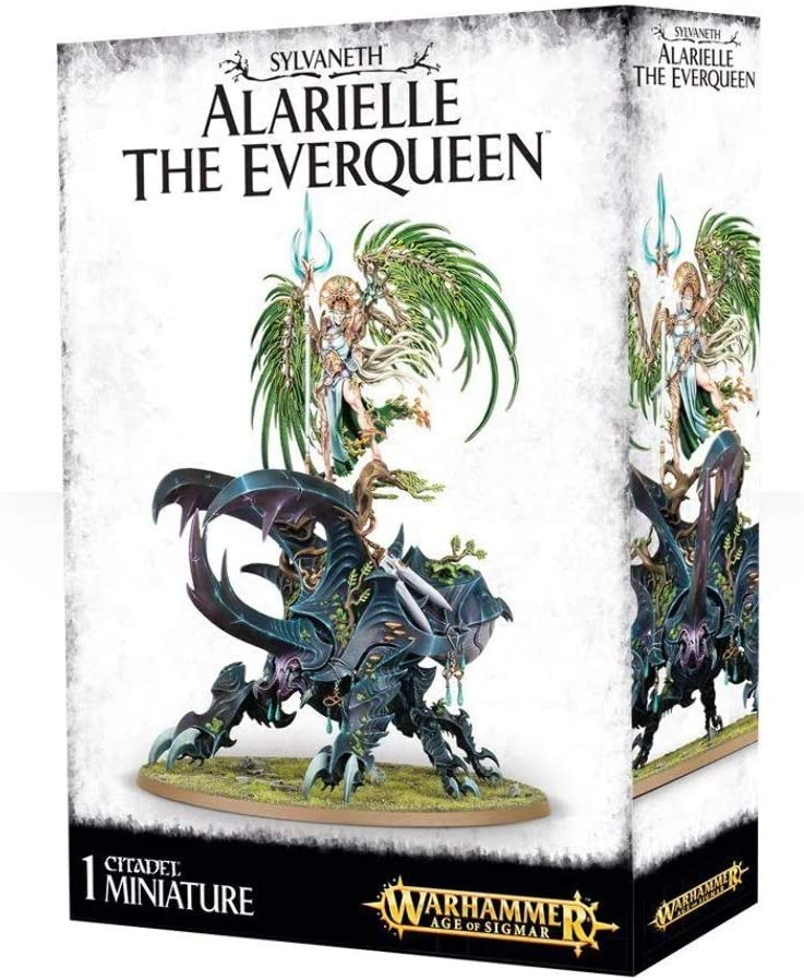 Games Workshop 99120204015 Age of Sigmar Sylvaneth Alarielle The Ever Queen Action Figure