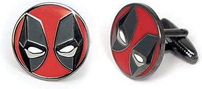 Tie Clip And Cufflinks Set Marvel Marvel Deadpool Avengers Fans Gift