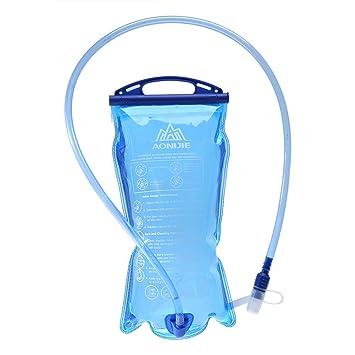 Alomejor - Bolsa de Agua Plegable para hidratación (1,5 l/2 ...
