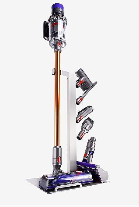 Wealth La suspensión del Aspirador de Dyson, Conveniente para Dyson V6/V7/V8/V10 Estante de almacenaje Libre de la perforación del Piso del Soporte de Dyson: Amazon.es: Hogar