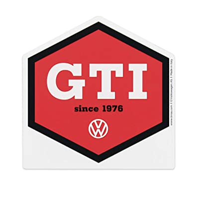 BRISA VW Collection - Volkswagen Golf GTI Ice Scraper, Windscreen Scraper, Ice and Snow Remover, Winter Car Accessories (Red): Automotive