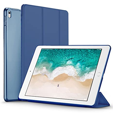 Robustrion Trifold Stand For Apple Ipad Pro 2nd Generation Navy
