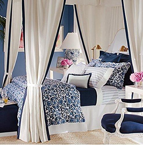 Ralph Lauren Dorsey Comforter -blue and white