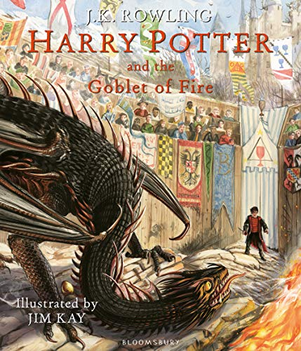 H P And The Globet Of Fire. Illustrated Edition (Harry Potter Illustrated Edtn) por J K Rowling