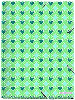 Amazon.com : Agatha Ruiz De La Prada 20754 - Folder Tabs A4, Polypropylene Medals : Office Products