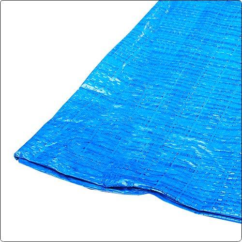 60 g blau Abdeckplane 10 x 10 Meter