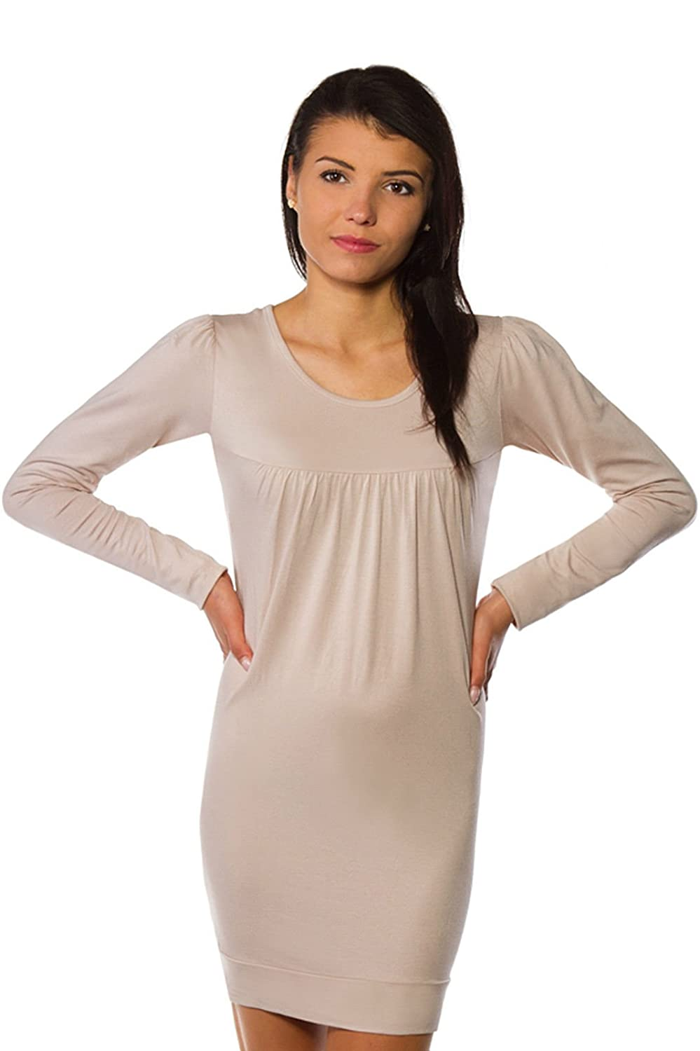 Fancy That Clothing Frauen Tunika Top Minikleid Long Top modische stilvolle Sexy 36 38 40