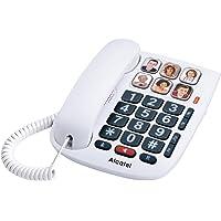 Teléfonos de teclas grandes y amplificados