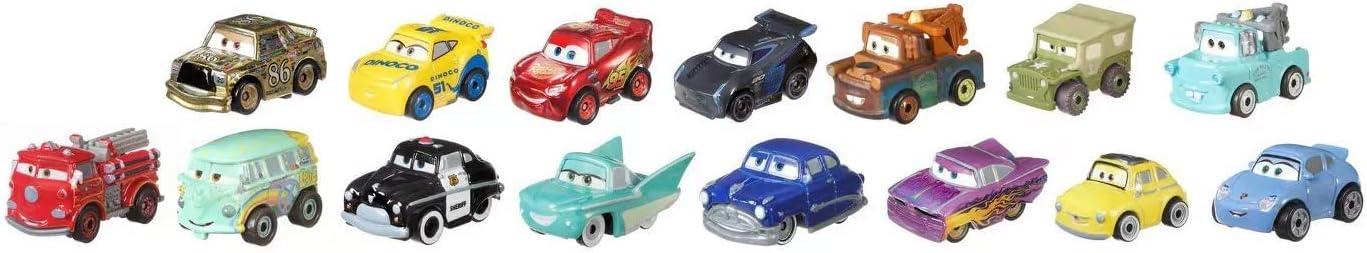 Disney Pixar Cars - Mini Racers - 15 Pack: Amazon.es: Juguetes y juegos