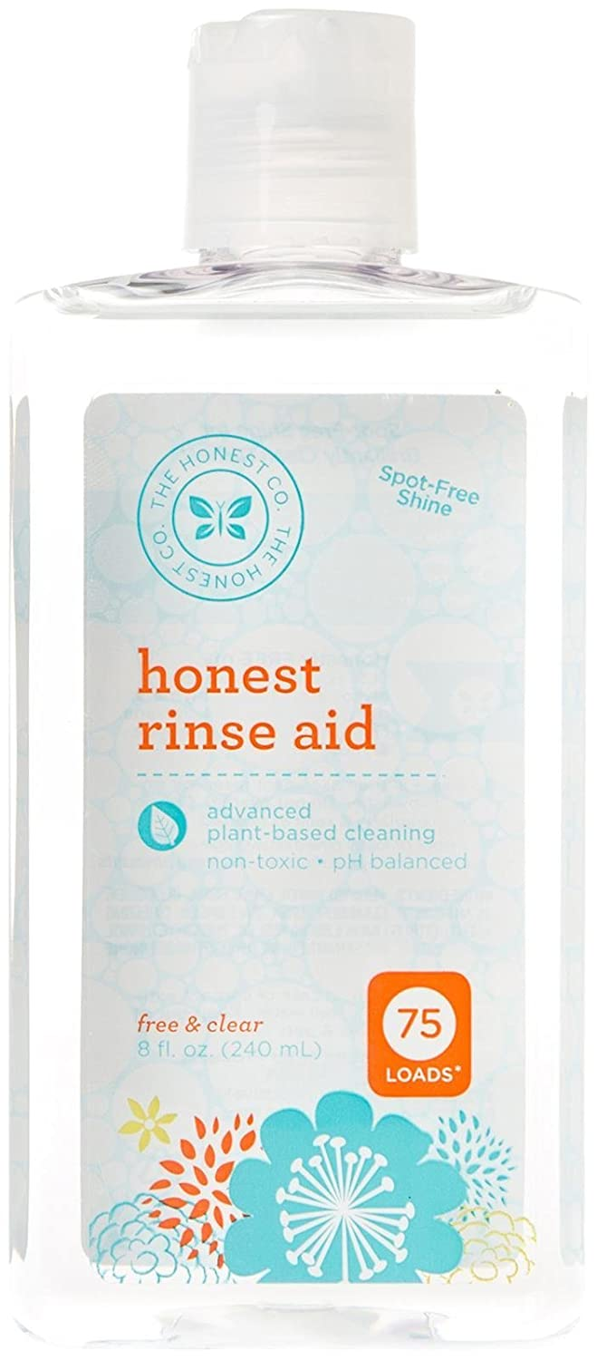 Honest Rinse Aid, Free & Clear, 8 Ounce The Honest Company