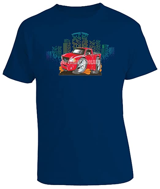 ba04ad2c KOOLART Cartoon Caricature Style of Ford Ranger - Mens T-Shirt:  Amazon.co.uk: Clothing