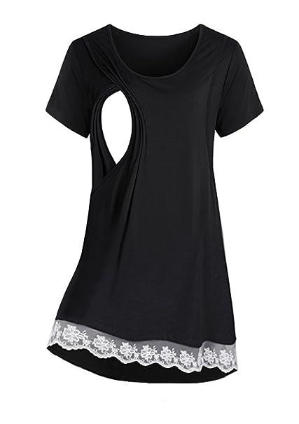 b1fc9c6eb Saifeier PJ® Vestido de Maternidad
