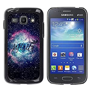Caucho caso de Shell duro de la cubierta de accesorios de protección BY RAYDREAMMM - Samsung Galaxy Ace 3 GT-S7270 GT-S7275 GT-S7272 - Universe Space Nebula Stars