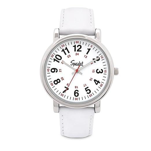 Speidel Scrub - Reloj para profesionales de la medicina con correa de silicona, de cuero o extensible ...