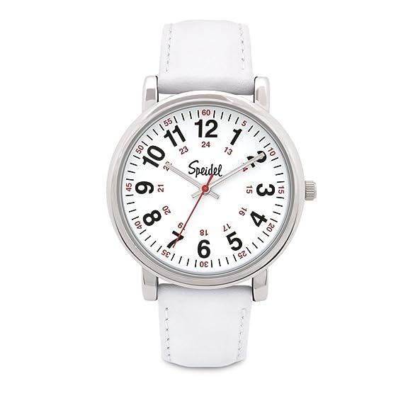 Speidel Scrub - Reloj para profesionales de la medicina con correa de silicona, de cuero