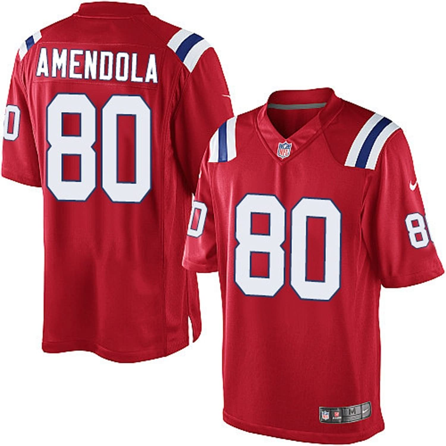 official photos 82c4a adbd7 NIKE Danny Amendola New England Patriots NFL Youth Red ...
