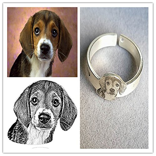 in rings gift listing memorial loss dog il ring forever my heart pet