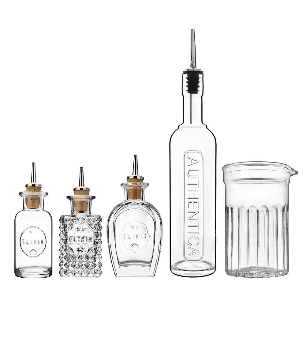 Bormioli Luigi: Set Mixology Luxury Bar & Cockail Making Equipment 5 pcs