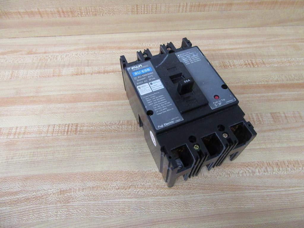FUJI BU-ESB3050 3 pole 50 amp Circuit Breaker