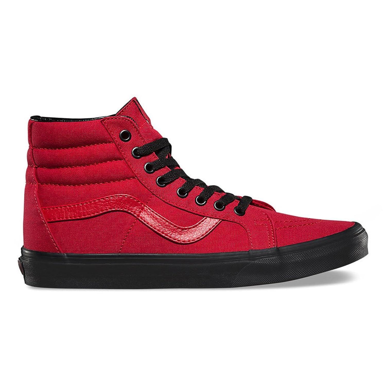 Furgonetas Mujeres De Los Zapatos Del Top Del Alto De Color Rojo pDrVj4xYt