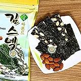 Almond Seaweed Laver Snack 30G x 5 Packs