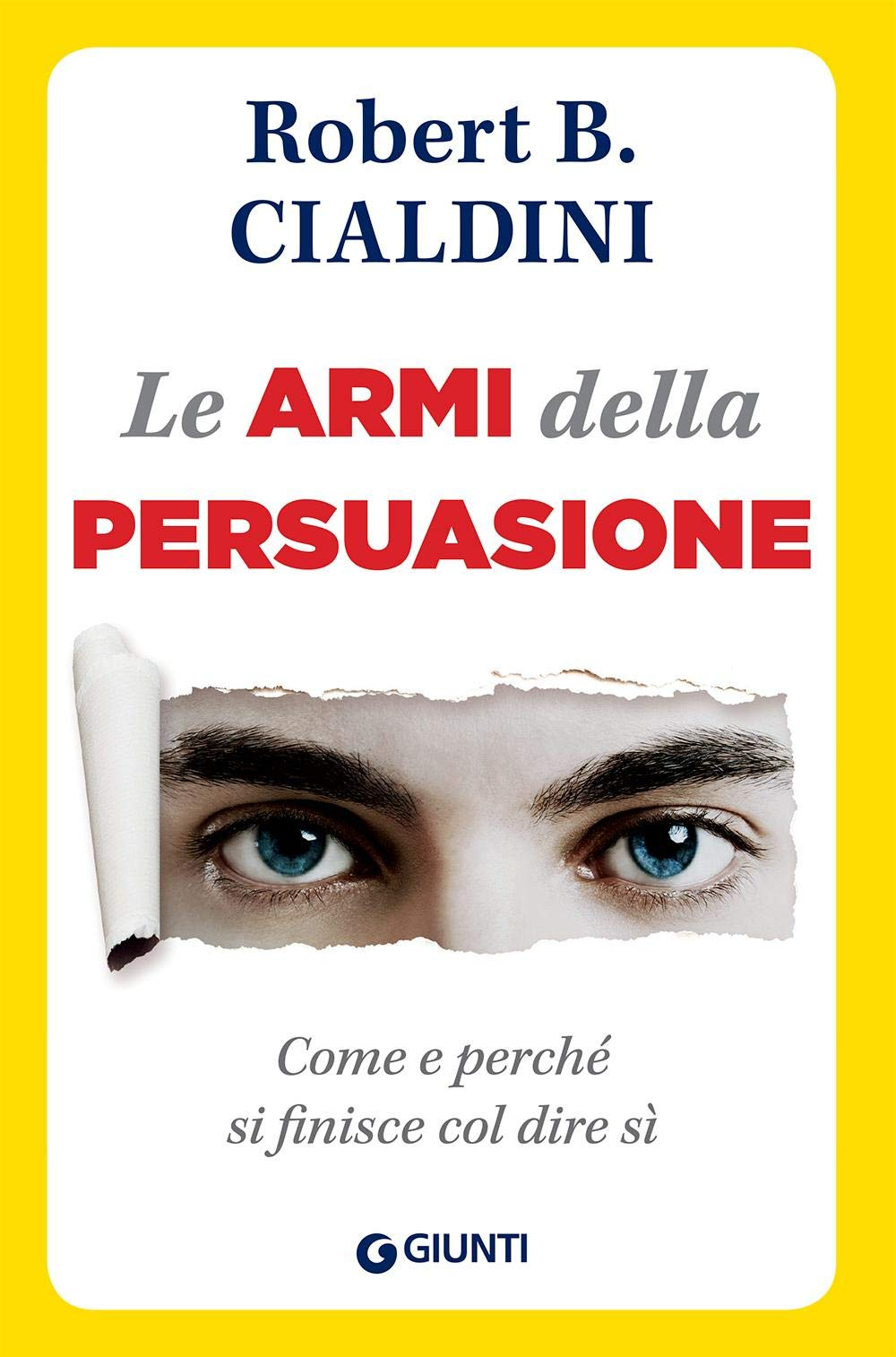 Copertina Libro Le armi della persuasione