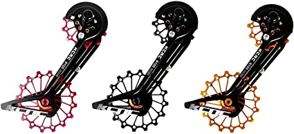 KCNC Road Bicycle Bike Oversize Pulley Cage System for Shimano r9100//r8000 Black