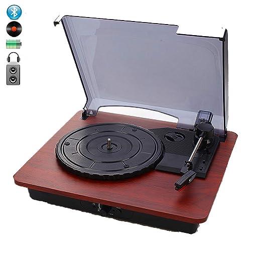 DNAN Reproductor de Discos de Vinilo Retro, fonógrafo Retro ...