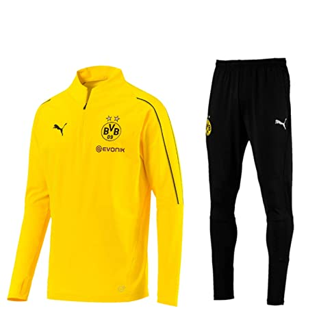 47934779a23f6 Puma BVB Borussia Dortmund Jogginganzug Herren der Saison 18-19 ...