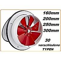160mm Ventilador Ventilación Extractor Axial Axiales Aspiracion Mura