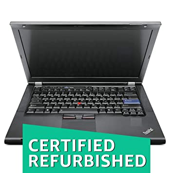e8b9d896dbb Buy (Certified REFURBISHED) Lenovo Thinkpad T420-i5-4 GB-500 GB 14-inch  Laptop (2nd Gen Core i5/4GB/500GB/Windows 7/Integrated Graphics), Black  Online at ...